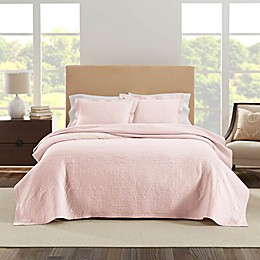 Realeza Raphaela 3-Piece Textured Coverlet Set
