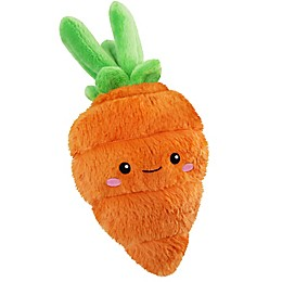 Squishable Comfort Food Mini Carrot Plush Toy in Orange