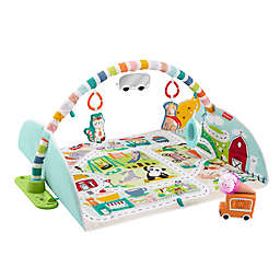 Fisher-Price® Activity City Gym to Jumbo Playmat in Blue
