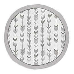 Sweet Jojo Designs® Arrows Playmat in White/Grey