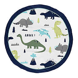 Sweet Jojo Designs® Dinosaur Playmat in Navy/Green