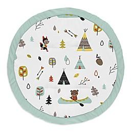 Sweet Jojo Designs® Outdoor Adventure Playmat in Aqua/Yellow