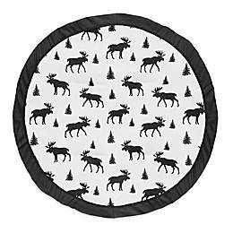 Sweet Jojo Designs® Rustic Patch Playmat in White/Black