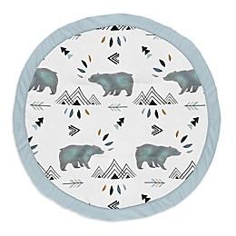 Sweet Jojo Designs® Bears Playmat in Slate/Black