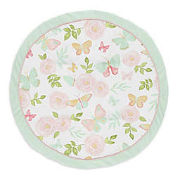 Sweet Jojo Designs® Butterfly Floral Playmat in Pink/Mint