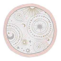 Sweet Jojo Designs® Celestial Playmat in Pink/Gold