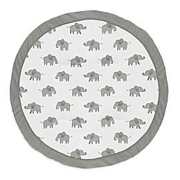 Sweet Jojo Designs® Elephants Playmat in Grey/Black