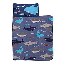Everything Kids by Nojo® Shark Toddler Nap Mat in Blue