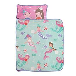 Everything Kids by Nojo® Mermaids Toddler Nap Mat in Pink/Blue