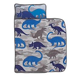 Everything Kids by Nojo® Dinosaurs Toddler Nap Mat in Blue/Grey