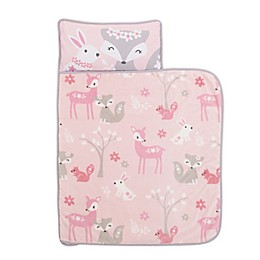 Everything Kids by Nojo® Foxes Toddler Nap Mat in Pink