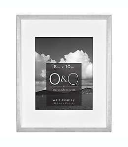 Portarretratos con marco de metal O&O by Olivia & Oliver™ color plata