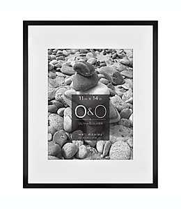 Portarretratos con marco de metal O&O by Olivia & Oliver™ color negro