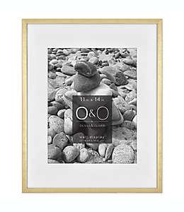 Portarretratos con marco de metal O&O by Olivia & Oliver™ color oro