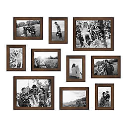SALT™ 10-Piece Gallery Wood Picture Frame Set