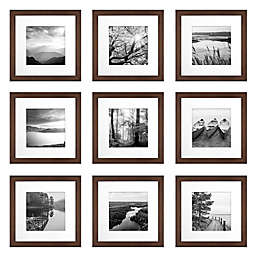 SALT™ 9-Piece 12-Inch x 12-Inch Gallery Picture Frame Set