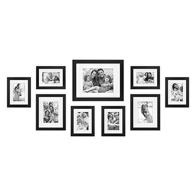 Alternate image 1 for SALT™ 9-Piece Gallery Picture Frame Set
