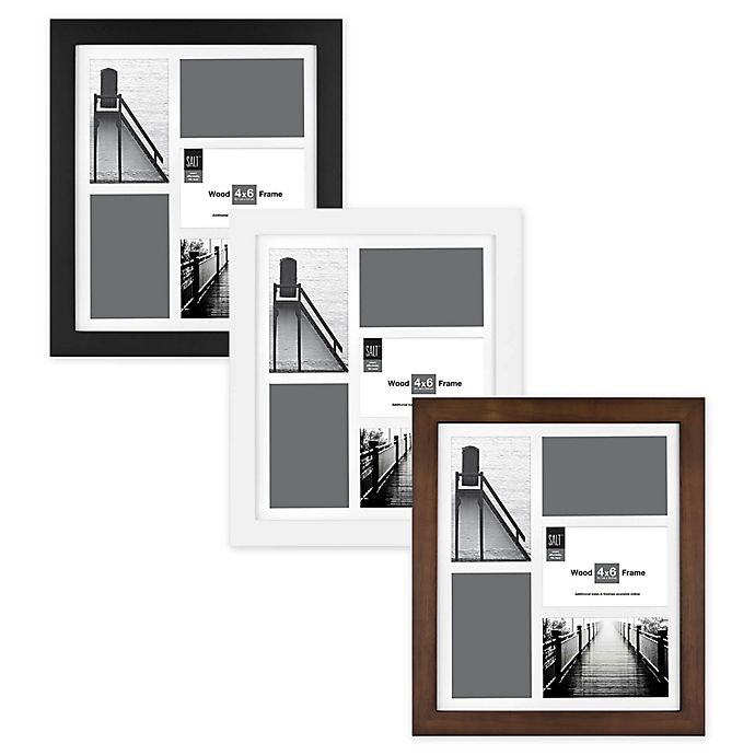 Alternate image 1 for SALT™ Gallery Multi-Photo Matted Picture Frame