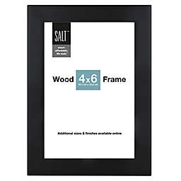 SALT™ Gallery 4-Inch x 6-Inch Picture Frame in Black