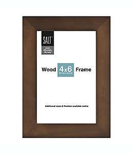 Porta retratos SALT™ Gallery color café nogal