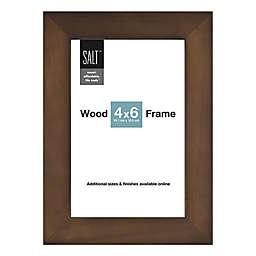 SALT™ Gallery 4-Inch x 6-Inch Picture Frame in Walnut