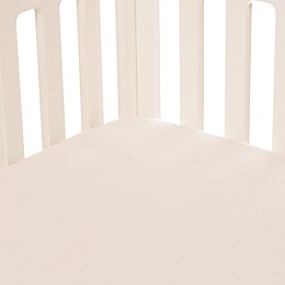 Glenna Jean Fly-By Softee Fitted Crib Sheet in Cream