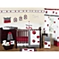 Part of the Sweet Jojo Designs Polka Dot Ladybug Crib Bedding Collection