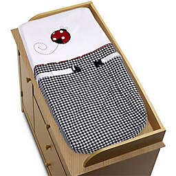 Sweet Jojo Designs Ladybug Changing Pad Cover