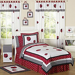 Sweet Jojo Designs Polka Dot Ladybug Bedding Collection