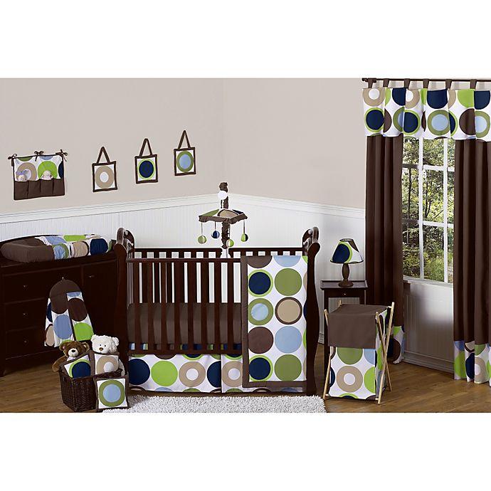 Alternate image 1 for Sweet Jojo Designs Designer Dot 11-Piece Crib Bedding Set