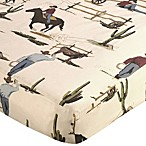Sweet Jojo Designs Wild West Cowboy Print Fitted Crib Sheet
