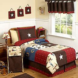 Sweet Jojo Designs Wild West 4-Piece Twin Comforter Set