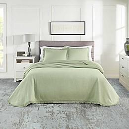 Realeza 3-Piece Woven Jacquard Bedspread Set