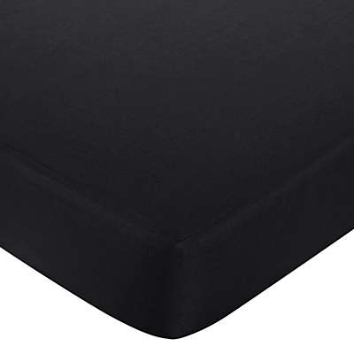 Sweet Jojo Designs Isabella Fitted Crib Sheet in Black