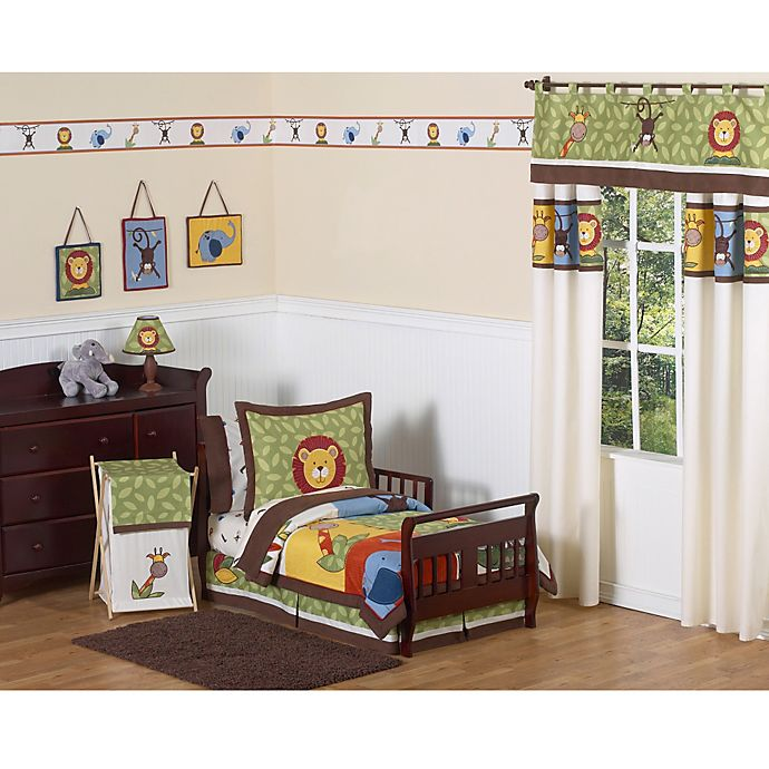 Alternate image 1 for Sweet Jojo Designs Jungle Time Bedding Collection