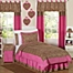 Part of the Sweet Jojo Designs Cheetah Girl Bedding Collection