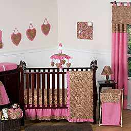Sweet Jojo Designs Cheetah Girl Crib Bedding Collection
