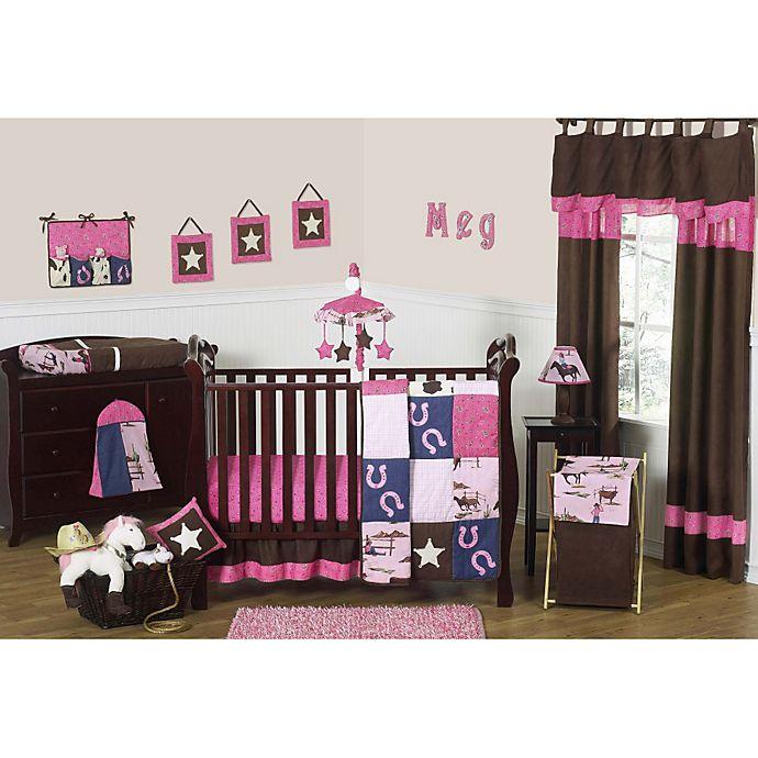 Alternate image 1 for Sweet Jojo Designs Cowgirl 11-Piece Crib Bedding Set