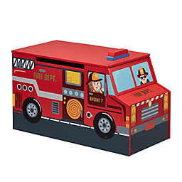 Fantasy Fields Little Fire Fighters Toy Chest in Red