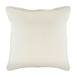 Solid Square Throw Pillows (Set of 2)