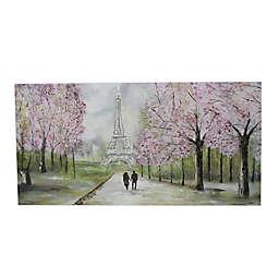 Pinefield Eiffel Tower 30-Inch x 60-Inch Canvas Wall Art