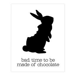 Chocolate Bunny 11x14 Canvas Wall Art