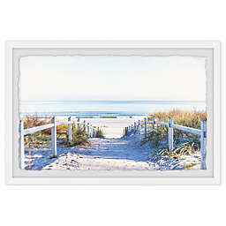 Marmont Hill Path to the Beach Framed Wall Art