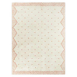 Hearthstone Crivelli 5'3 x 7' Area Rug in Peach