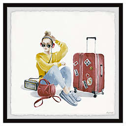 Marmont Hill Comfy Travel Outfit Framed Wall Art