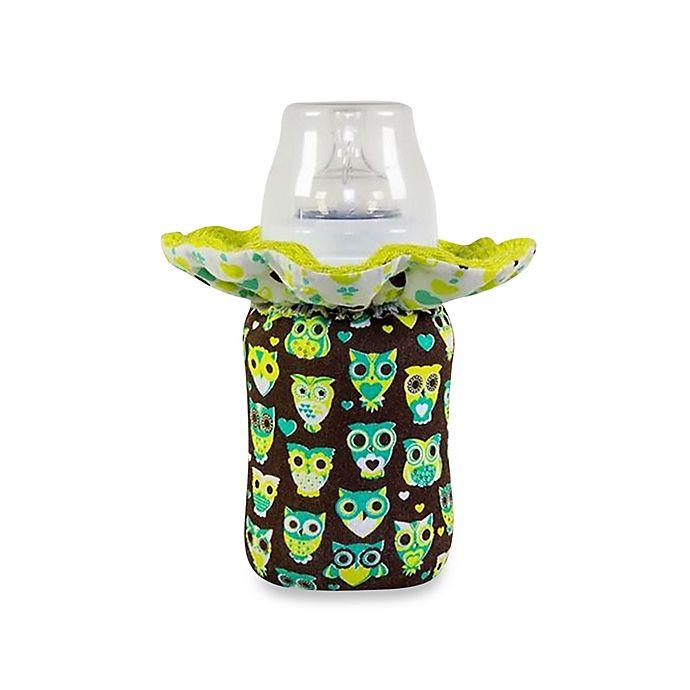 Alternate image 1 for WarmZe Portable Bottle Warmer Starter Kit in Brown/Blue Owl
