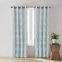 O&O by Olivia & Oliver™ Zander Geo Grommet Room Darkening Window Curtain Panel