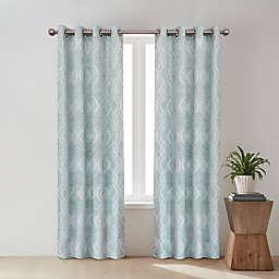 O&O by Olivia & Oliver™ Zander Geo Grommet Room Darkening Curtain Panel (Single)