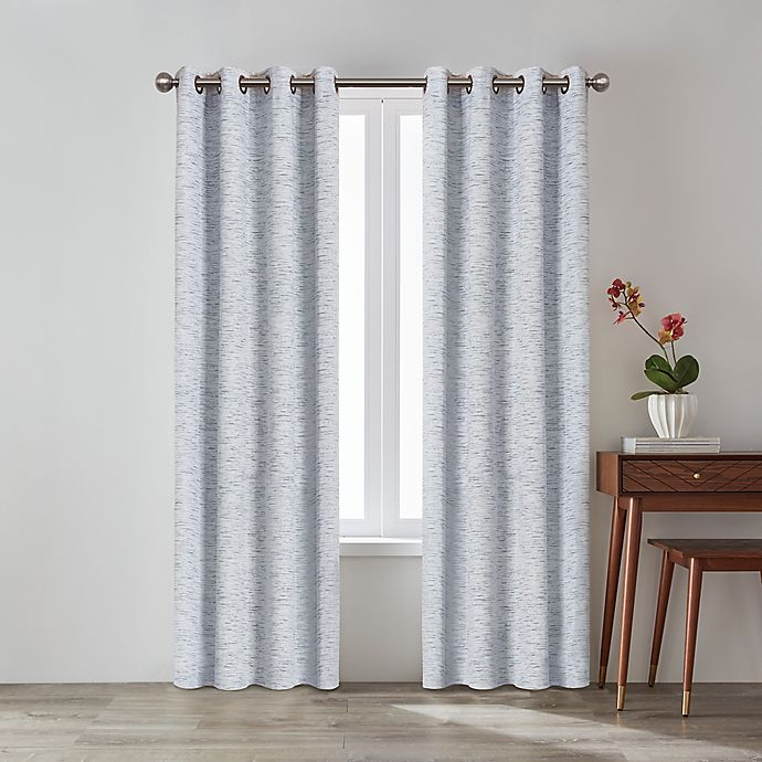 Alternate image 1 for O&O by Olivia & Oliver™ Zander Grommet Room Darkening Window Curtain Panel
