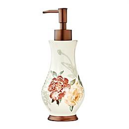 Holland Floral Stone Soap/Lotion Dispenser